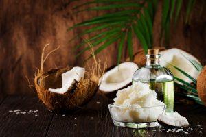 coconut oil for eyelashes